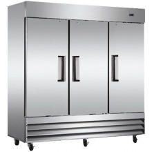 3 Door 72 Cu. Ft. Reach-In Refrigerator