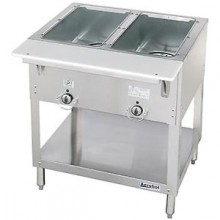 2 Opening Aerohot® Stationary Electric Hot Food Unit with Exposed Elements