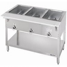 3 Opening Aerohot® Stationary Electric Hot Food Unit with Exposed Elements