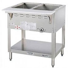 2 Opening Aerohot® Stationary Gas Wet Bath Hot Food Unit