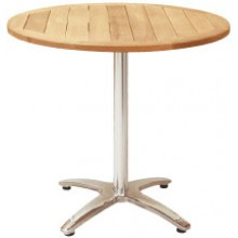 "32"" Diameter Standard Indoor/Outdoor Teak Table"