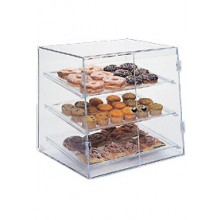 "19"" W x 17"" D x 18"" H Rear Load Full Size Pastry Display Case"