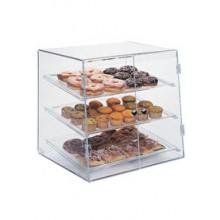"19"" W x 17"" D x 18"" H Self-Serve Front Load Full Size Pastry Display Case"