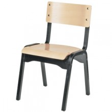 Two Tone Stacking Chair
