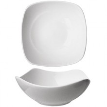 10 Oz. Quad™ Porcelain No Rim Fruit Bowl - Bright White