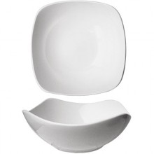 46 Oz. Quad™ Porcelain No Rim Bowl - Bright White