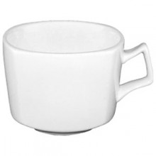 8 Oz. Quad™ Porcelain No Rim Cup - Bright White