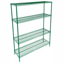 "36"" W x 18"" D All Purpose Epoxy Wire Shelf"
