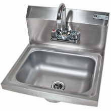 Heavy 20 Gauge 300 Series Stainless Steel Hand Sink