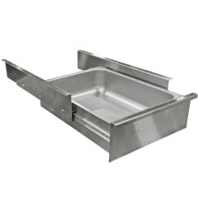 """Stainless Ball Bearing Drawer for 24""""D Tables"""