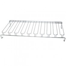 "48"" W Overhead Glass Rack - Chrome"