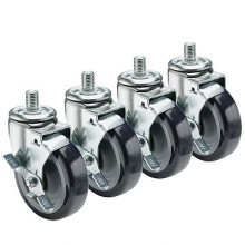 "½"" HD Threaded Stem Casters – 5"""