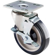 "Economy Plate Casters – 3 1/2"" x 3 1/2"" Plate"