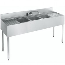 5' L 2100 Series 3 Compartment Sink