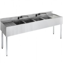 6' L 2100 Series 4 Compartment Sink