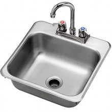 "15""W Drop-In Hand Sink"