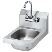20 Gauge Stainless Steel Space Saver Hand Sink