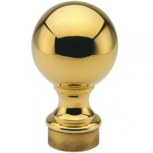 Ball Finial - Brass