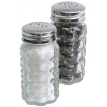 2 Oz. Classic Salt and Pepper Shaker - Flat Top