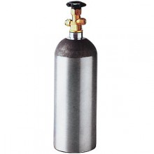 2 1/2 lbs. Aluminum CO2 Cylinder