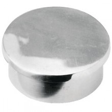 Flush End Cap - Stainless Steel