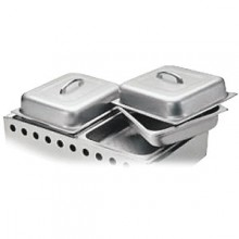 Steam Pan Set for Outdoor Gas Grill
