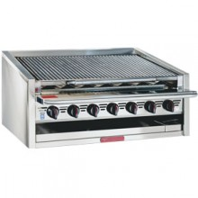 """24"""" W Heavy Duty Radiant Gas Counter Charbroiler"""
