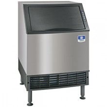 "26"" Wide 130 lbs. Production 90 lbs. Bin Capacity Undercounter Ice Maker - Air Cooled Half Dice"