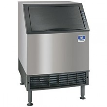 "26"" Wide 320 lbs. Production 100 lbs. Bin Capacity Undercounter Ice Maker - Air Cooled Half Dice"
