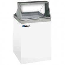 "26 1/2"" W 4 Tub Standard Front Lighted Dipping Cabinet"