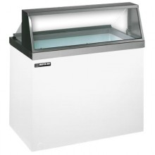 "47 3/4"" W 12 Tub Standard Front Lighted Dipping Cabinet"