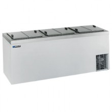 "84 5/8"" W 32 Tub Dipping Cabinet - Stainless Steel"