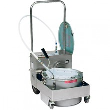 Filter Machine/Discard Trolley with Drain Valve