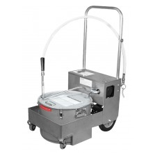 Filter Machine/Discard Trolley without Drain Valve