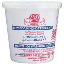 LFD® Low Foaming Detergent for Electric - 100 Tablets