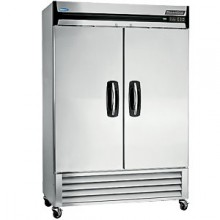 49 Cubic Ft Two Swing Door Reach-In Freezer
