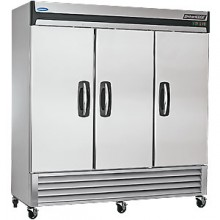 70 Cubic Ft Three Swing Door Reach-In Freezer
