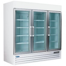 "70 Cu. Ft. 79"" Height Glass Door Merchandisers"