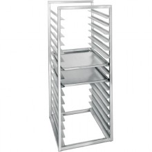 Welded Aluminum Construction Insert Pan Rack – Full Size