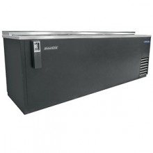 "95 1/2"" Wide Black Vinyl Bottle Cooler"