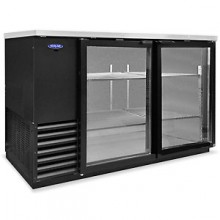 "59"" Wide Glass Door Back Bar Cooler"