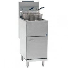 40-45 lb. Capacity Economy Gas Floor Fryer