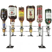 In-Line Counter Mount No Meter Liquor Dispensing System