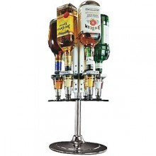 Rotary Counter Mount w/Meter Liquor Dispensing System