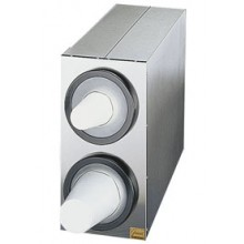 EZ-Fit® Stainless Steel Box System - 2 Dispensers