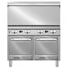 "48"" W 8 Burner 2 Oven S Series Gas Restaurant Range"