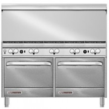 "60"" W 10 Burner 2 Oven S Series Gas Restaurant Range"