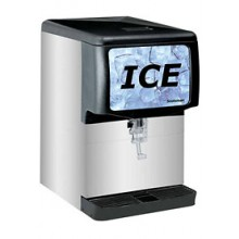 "22""  Wide 150 lbs. Capacity Slimline Countertop Ice Dispenser"