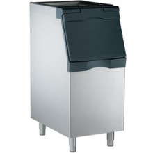 "22""  Wide 370 lbs. Capacity Slimline Stainless Steel Ice Bin"