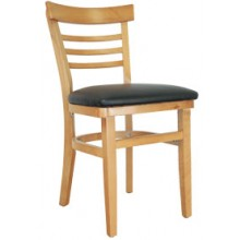 Ladderback Chair Natural Finish